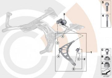 Reparatursatz Querlenker links VALUE LINE MINI  (31122444415)
