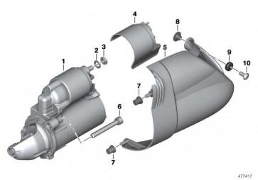 Starter BOSCH           K25 K28 K29 K27 K21   (12317691956)