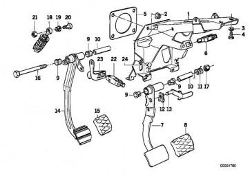 Kupplungsschalter STARTLOCK       5er 3er Z8 Z3 MINI  (61318363710)
