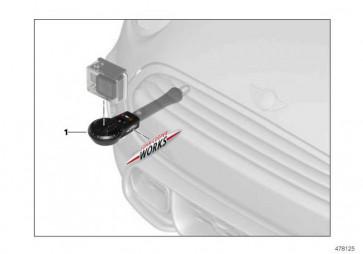 """Track Fix GoPro Kameras """"MINI JCW PRO"""" MINI  (51952409095)"""