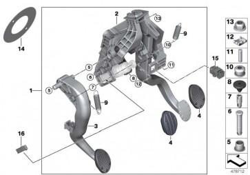 Bolzen Geberzylinder  MINI 2er X1  (35006860670)
