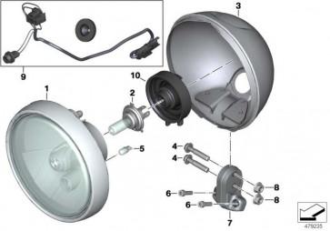 Kabelsatz Scheinwerfer L=380MM K21  (63128568038)