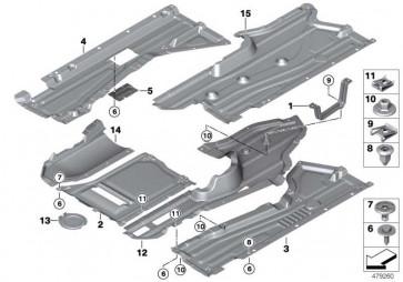Deckel Abgasanlage  X5  (51757343626)