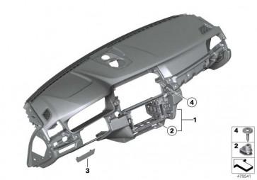 Instrumententafel Head-Up Display SCHWARZ 5er  (51459297889)
