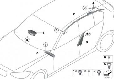 Knieschutz Airbagmodul Fahrerseite   (72129228652)