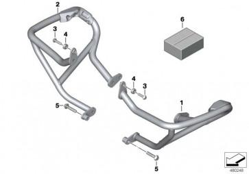 Motorschutzbügel rechts  K50  (77148557608)