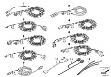 Rep.-Kabel Fahrerairbag/Steuergerät  3er 1er  (61129130177)