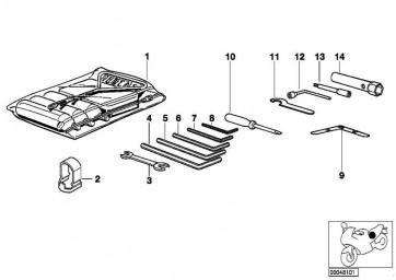 Doppelgabelschlüssel 10X13  (07119908041)