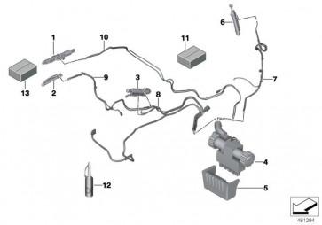 Hydraulikzylinder Heckmodul links (54377128782)