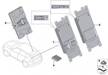 Telematiksteuergerät ATM ECE 3G  (84106836759)