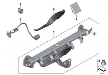 Satz Anhängerkupplung elektr. schwenkbar (51129448707)