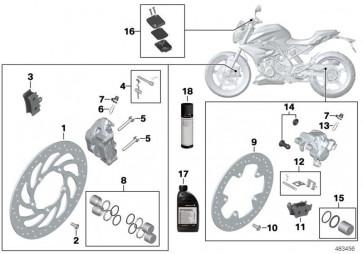 Sechskantschraube mit Schaft M8X50-10.9 (34118561806)