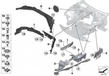 Abdeckung Lenkungsaggregate vorn rechts (51757274866)