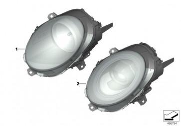 Scheinwerfer LED AHL High links RHD (63118737601)