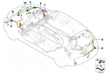 Rep.-Kabelsatz vorn links (61126821869)