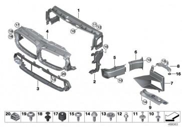 Luftführung Bremse links M (51748065809)