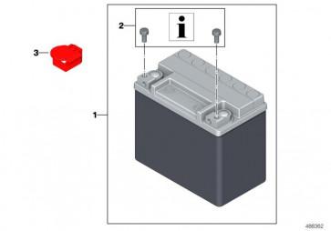 abdeckung batterie pluspol 61218395620. Black Bedroom Furniture Sets. Home Design Ideas