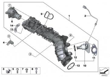 Sauganlage-AGR mit Klappensteuerung RDE (11618596906)