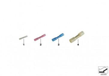 Stossverbinder mit Schrumpfschlauch 0,5-1,5MM² (61138727252)