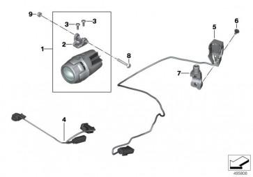 Kabelbaum LED-Zusatzscheinwerfer (61129446551)