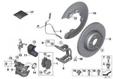 Reparatursatz Aktuator EMF (34216894091)