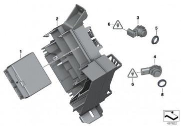 Ultraschallsensor Imperialblau WA89 (66209261621)