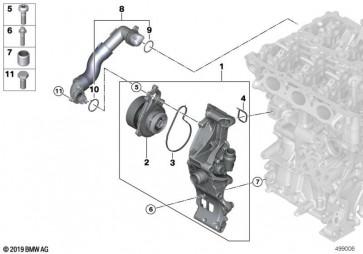 Kühlmittelpumpe (11518678905)