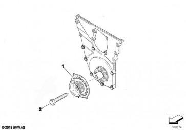 Sechskantschraube M16X1,5X100 12. (11232195283)