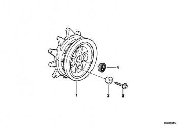 Radschraube M12X1,5X63       (36312333418)