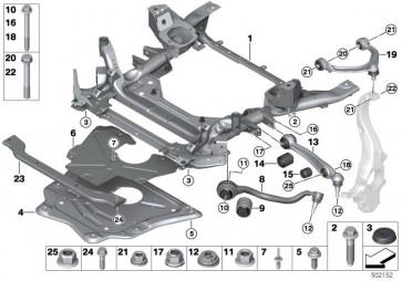 Kombischraube ASA M10X81-10.9ZNS3 (31106881432)