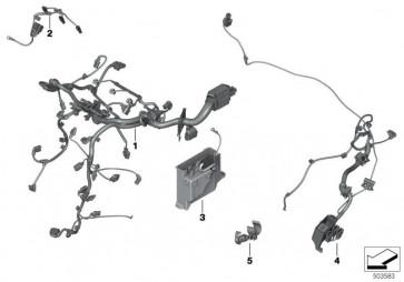 Kabelbaum Motor Injektormodul -BDS (12518593228)