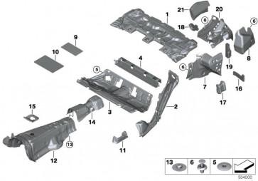 Schallisolierung Radhaus hinten links (51487387515)