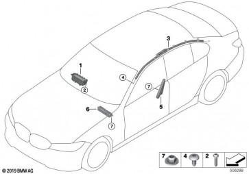 Knieschutz Airbagmodul links (72129867382)