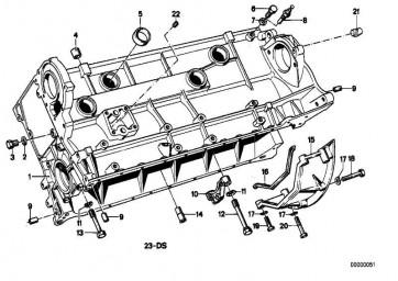 AT-Zylinder-Kurbelgehäuse mit Kolben  6er  (11111310616)
