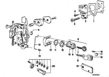 Senkschraube M8X35            3er 5er 6er 7er M1  (07119928180)