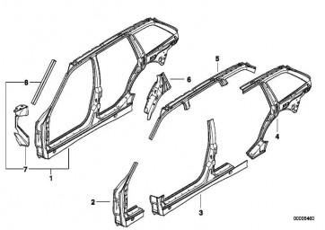 B-Säule mit Einstieg links                 3er  (41218224771)