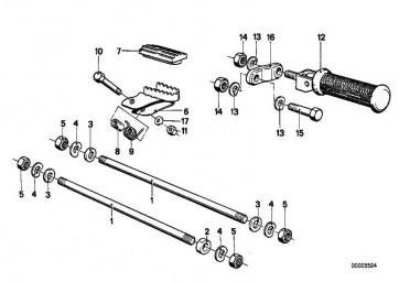Sechskantschraube M8X55            (46712302040)
