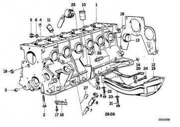Verschlussschraube M14X1,5-ZNNIV 1er 3er 5er 6er 7er 8er X1 X3 X5 X6 Z3 Z4 MINI  (07119904539)
