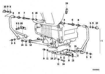 Motorschutzbügel rechts CR               (46712315234)
