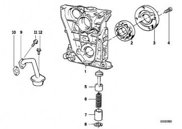 Bundschraube M6X20           1er 3er 5er 7er Z3  (11131247056)