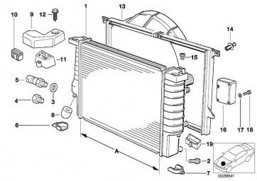 Sensor für AUC (64111390325)