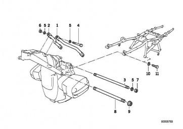 Zylinderschraube M10X45           (07119919668)