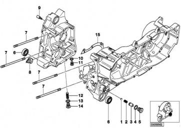 Öldruckschalter M10X1            (12617653430)