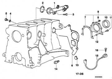 Sechskantschraube mit Scheibe M8X25-Z1        3er 5er Z3  (11141743313)