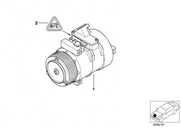 Kompressor, Klimaanlage (DEN-DCP05014)