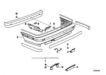 Halteband M TECHNIC       5er 6er  (51111937617)