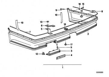 Folie links M TECHNIC       6er  (51711926195)