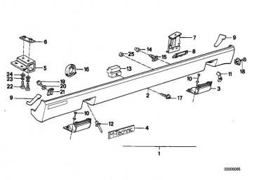 Klammer M TECHNIC       6er  (51711933204)
