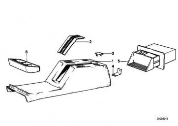 Blindverschluss PERLBEIGE       6er 5er  (51161909061)