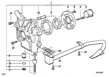 Bundschraube M6X18-ZNS3      1er 3er 5er 6er 7er X1 X3 X5 X6  (11537804636)